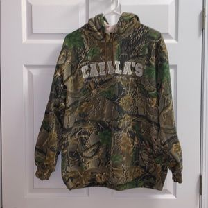 Cabela's camouflage hoodie